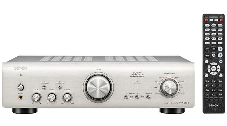 Amply Denon PMA-800NE cho chất lượng âm thanh đầu ra cao cấp, nhẹ nhàng, chi tiết
