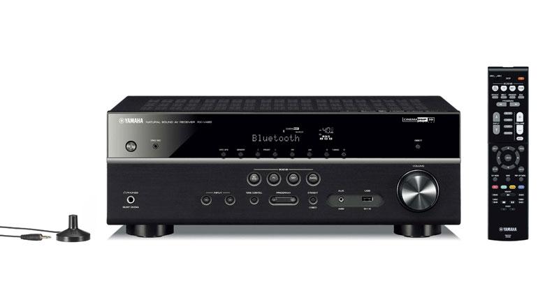 Amply Yamaha RX-V485 BLACK công suất đạt 115W/ kênh