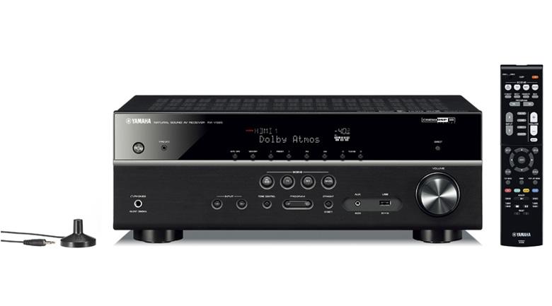Amply Yamaha RX-V585 cho âm thanh vòm mạnh mẽ