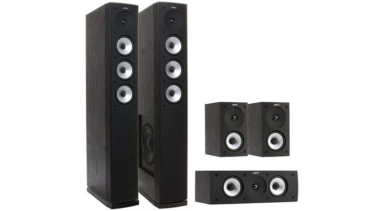 Bộ loa nghe nhạc, xem phim Jamo S628 HCS mang khả năng tái tạo âm thanh chi tiết tinh tế trong từng thước phim, bản nhạc