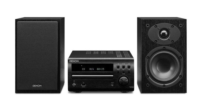 Dàn âm thanh mini Denon D-M39 mang đến cho người dùng trải nghiệm âm thanh tuyệt vời