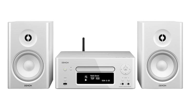 Dàn âm thanh mini Denon D-N7 cho âm thanh trung thực, chi tiết, đẹp, trong trẻo, rõ ràng với những âm trầm dồi dào