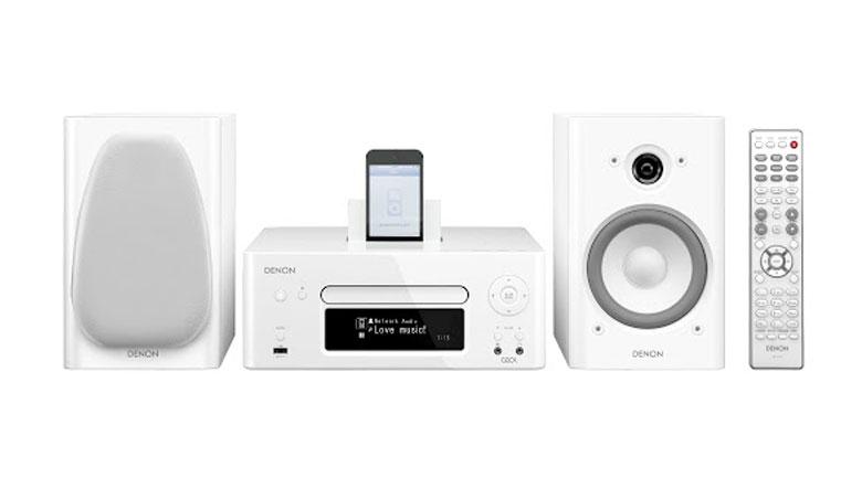 Dàn âm thanh mini Denon D-N8 chơi tốt và trình diễn ấn tượng trong một không gian phù hợp như phòng ngủ, phòng làm việc, phòng ăn