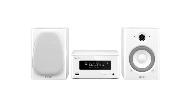 Dàn âm thanh mini Denon DRA-N5 có thể tương thích với các file nhạc lossless như WAV 192kHz/24 bit, FLAC 192kHx/24 bit và có thể tương thích với app Remotee Denon