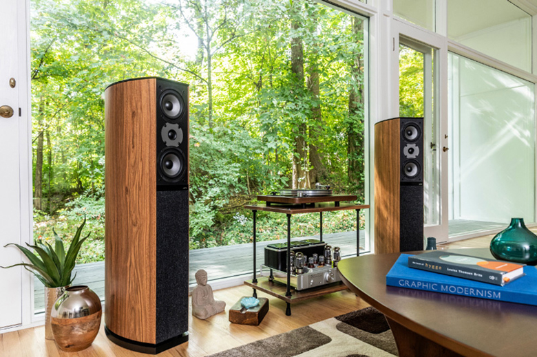 Loa nghe nhạc Jamo D590 sở hữu thiết kế sang trọng