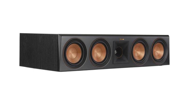 Loa Center Klipsch RP-504C tái tạo âm thanh nhờ viền nhún silicon
