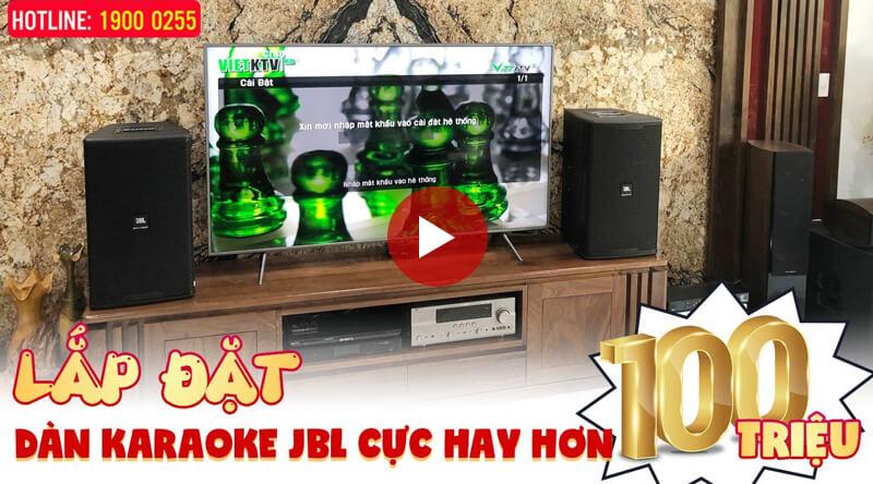 Lắp đặt dàn karaoke gia đình anh Thanh tại Hà Nội