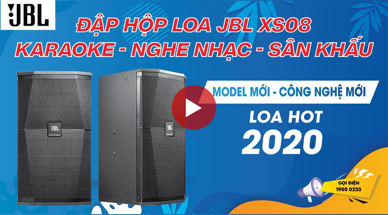 Loa karaoke JBL XS08