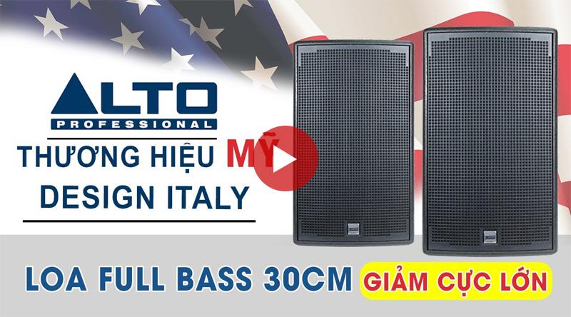 Trải nghiệm loa karaoke Alto AT1000