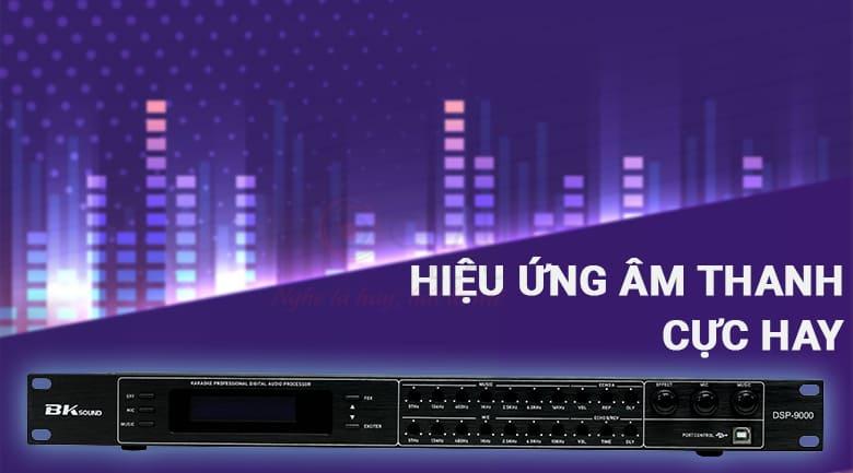 Vang số chỉnh cơ Bksound DSP-9000 (Black) có khả năng xử lý âm thanh cực hay