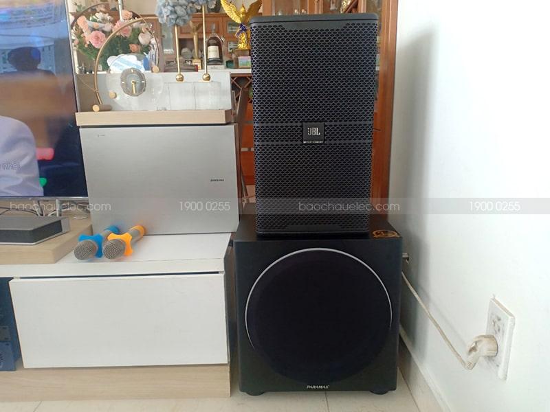 Dàn karaoke JBL cao cấp của anh Đạt sử dụng Sub điện Paramax sub-1000