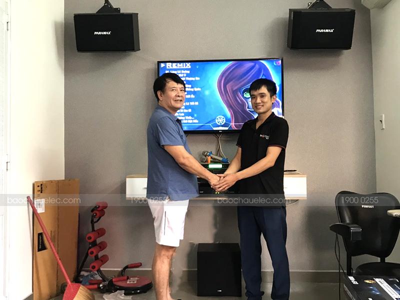 Khách hàng tại TP. Hồ Chí Minh lựa chọn loa sub điện Yamaha NS-SW100 cho dàn karaoke của gia đình mình