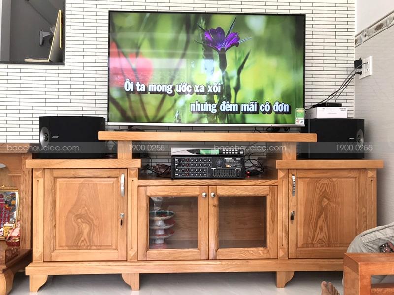 Lắp đặt dàn karaoke Bose cho gia đình anh Toàn ở TP Hồ Chí Minh