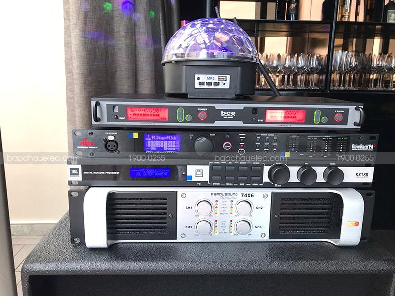Hệ thống âm thanh đạt chuẩn