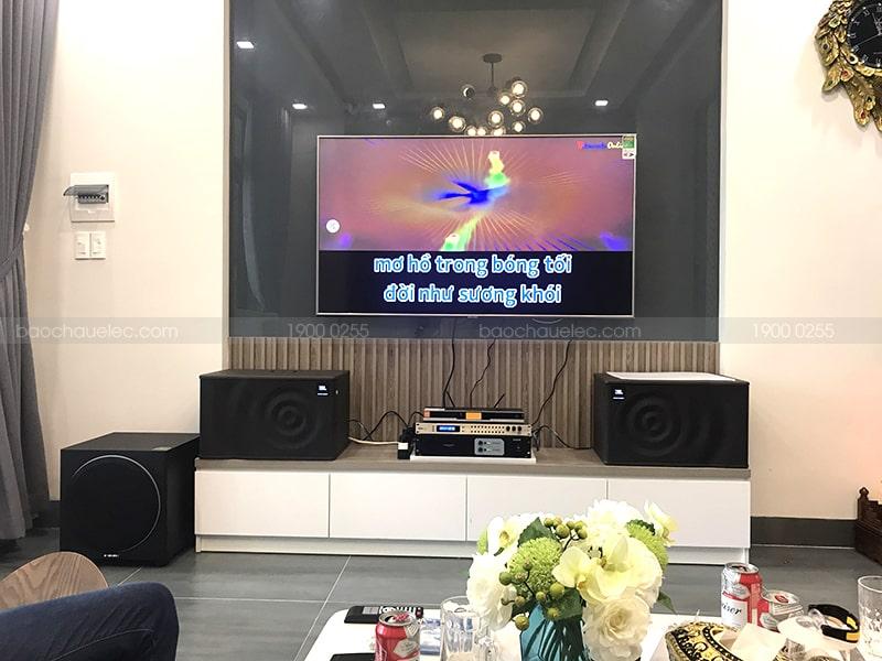 Bộ dàn karaoke gia đình sử dụng micro không dây BBS B900