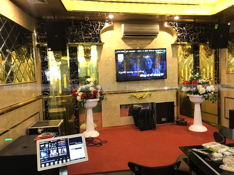 Lắp đặt 2 phòng hát quán karaoke kinh doanh Moonlight Coffee