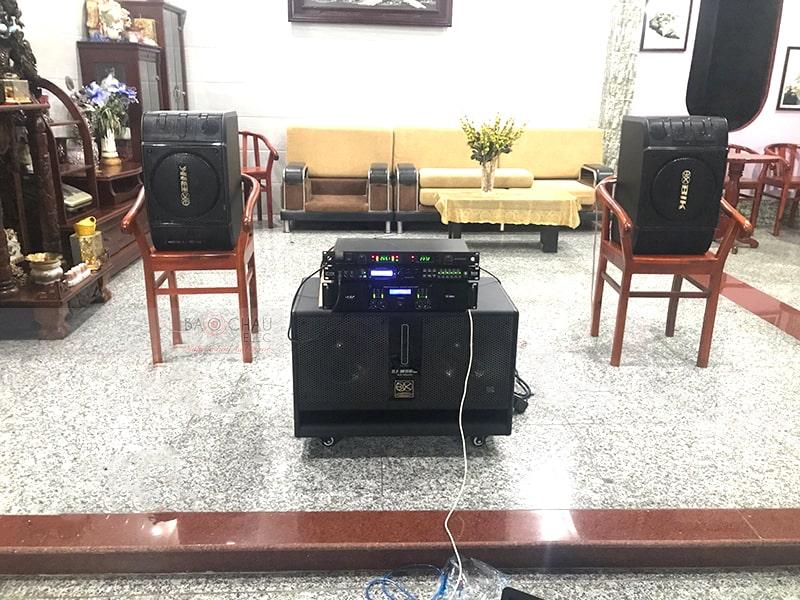 Dàn karaoke gia đình sử dụng cục đẩy AAP TD6004