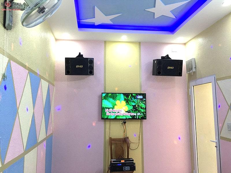 dàn karaoke BMB cho gia đình chị Ánh Phi - Đồng Nai