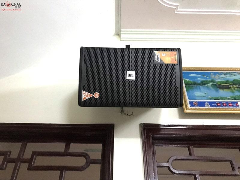 Bộ dàn karaoke JBL của gia đình anh Tuấn