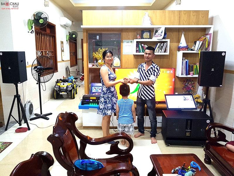 Khách hàng tại TP. Hồ Chí Minh lựa chọn loa sub hơi BIK BJ-W66 Plus  cho dàn karaoke của gia đình mình