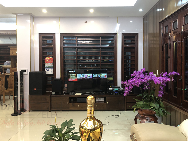 Bảo Châu Elec lắp đặt dàn karaoke cho gia đình anh Hưng tại Hà Nội - 2