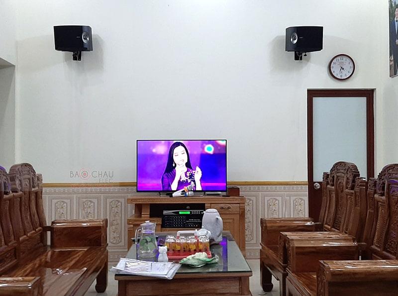 Dàn karaoke gia đình anh Lương tại Bắc Giang