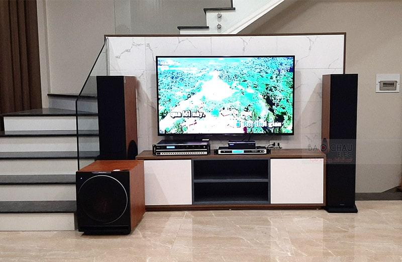 dàn karaoke Paramax cho gia đình anh Hùng ở VSip Bắc Ninh h3