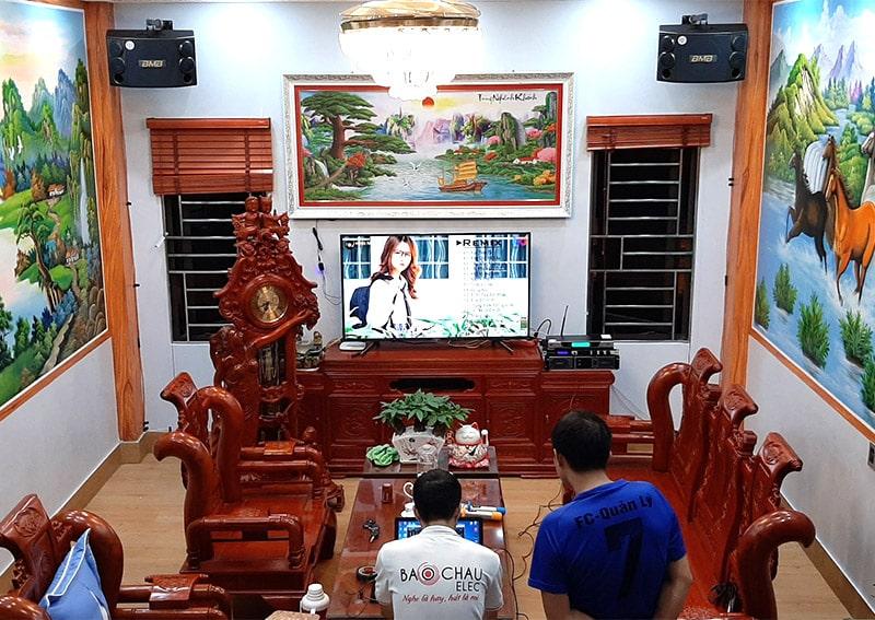 Dàn karaoke BMB cho gia đình anh Doanh ở Bắc Ninh h4