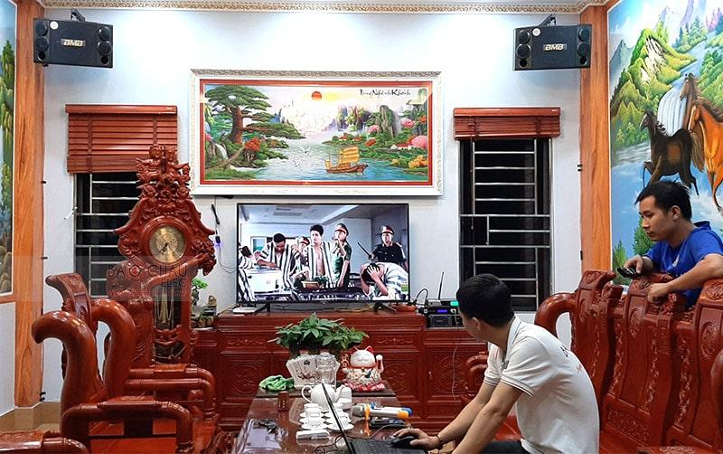 Dàn karaoke BMB cho gia đình anh Doanh ở Bắc Ninh h5