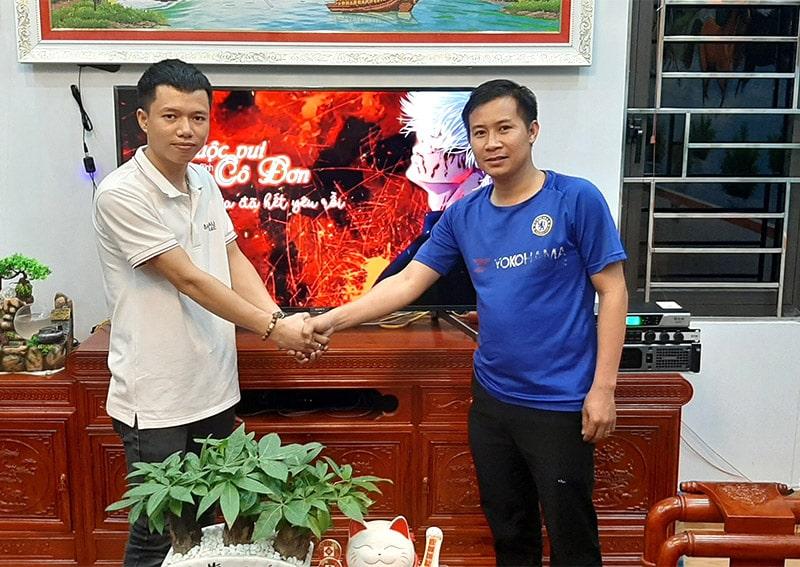Dàn karaoke BMB cho gia đình anh Doanh ở Bắc Ninh h8