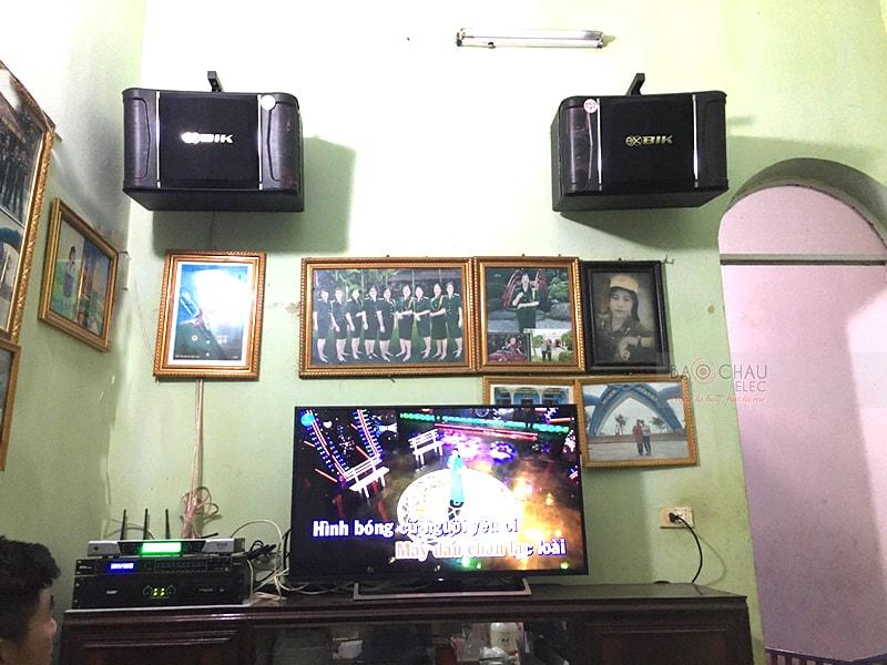 Dàn karaoke BIK cho gia đình anh Tú ở Quế Võ, Bắc Ninh h4
