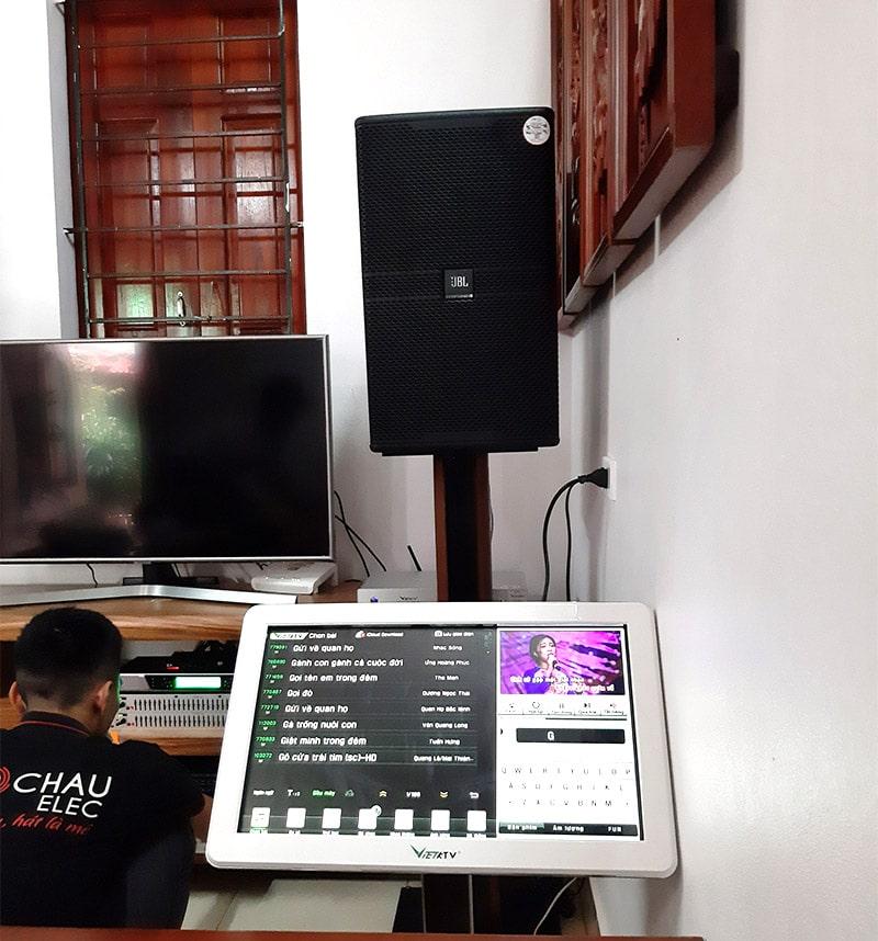 Dàn karaoke JBL cao cấp cho gia đình anh Tuấn ở Vũ Ninh h4