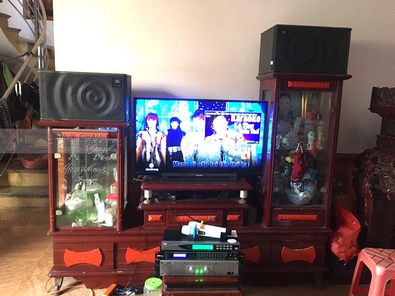 Dàn karaoke JBL cho gia đình anh Huynh ở Bắc Ninh h4