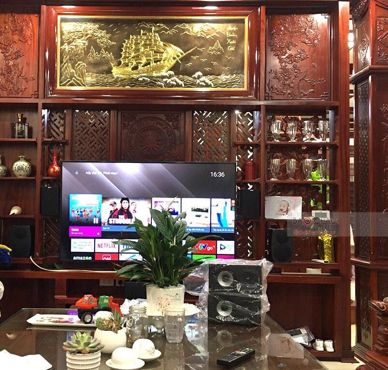 Lắp đặt bộ dàn âm thanh xem phim cho anh Hùng ở TP. Bắc Ninh h10