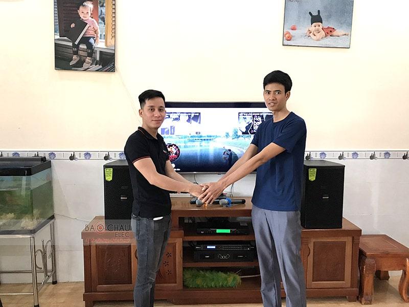 Bộ dàn karaoke Domus của gia đình anh Chí ở Biên Hòa h5