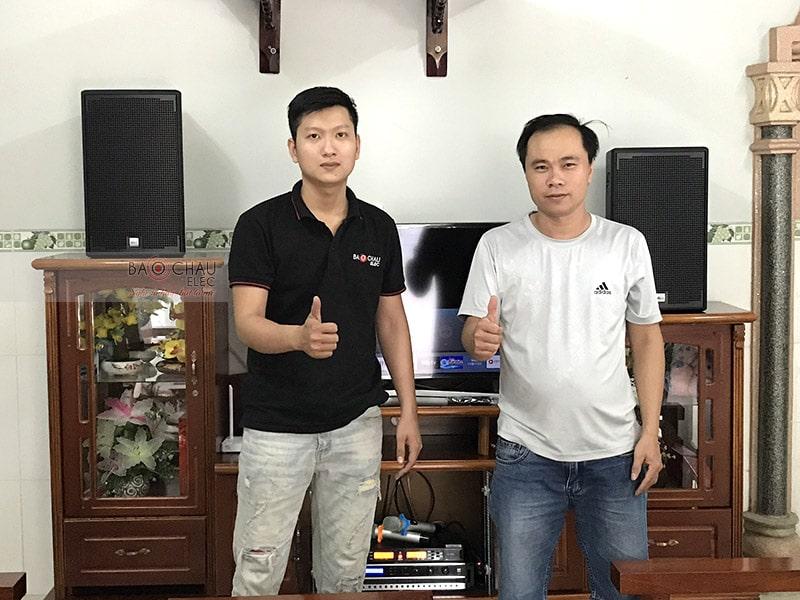 Dàn karaoke Alto của gia đình anh Nam ở Long Thành, Đồng Nai h5