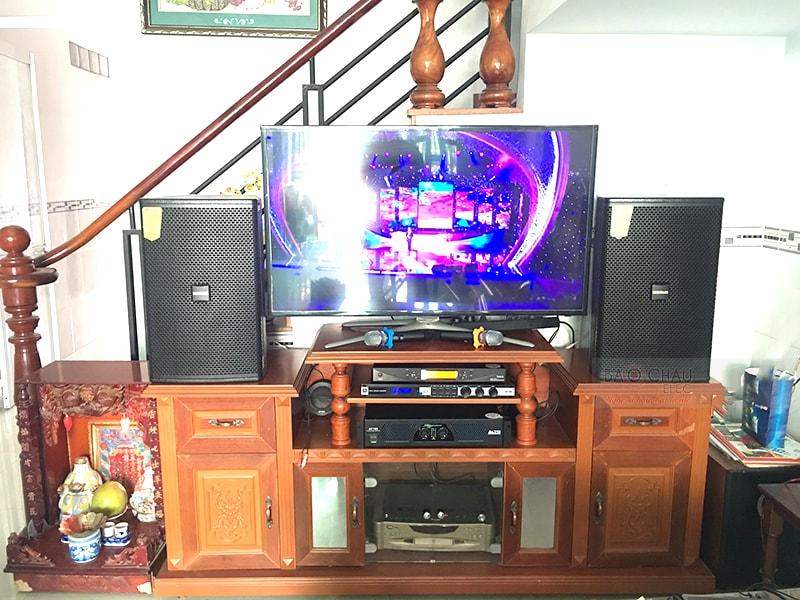Dàn karaoke Domus cực hay cho gia đình anh Trình ở Biên Hòa h4