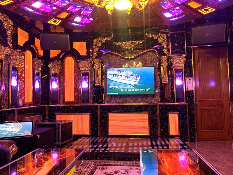 Dàn karaoke Vip cho gia đình chị Thắm ở Biên Hòa h6