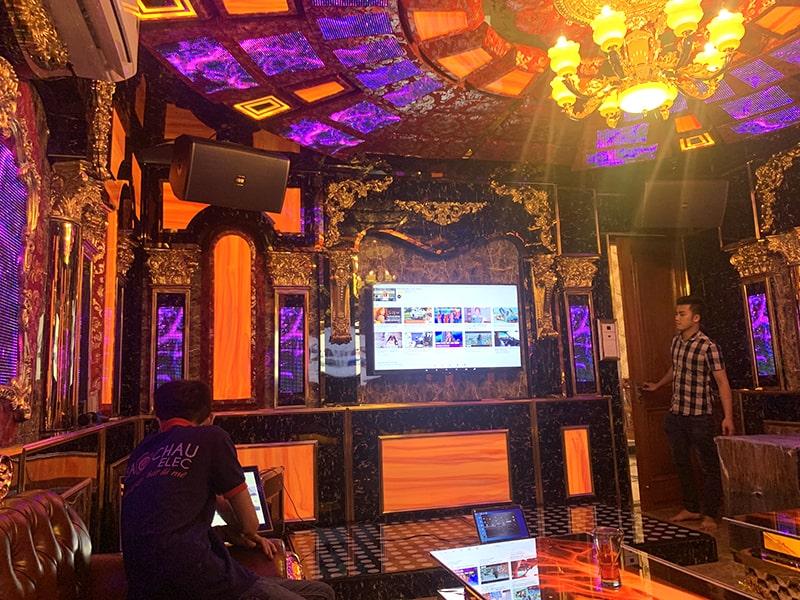 Dàn karaoke Vip cho gia đình chị Thắm ở Biên Hòa h7
