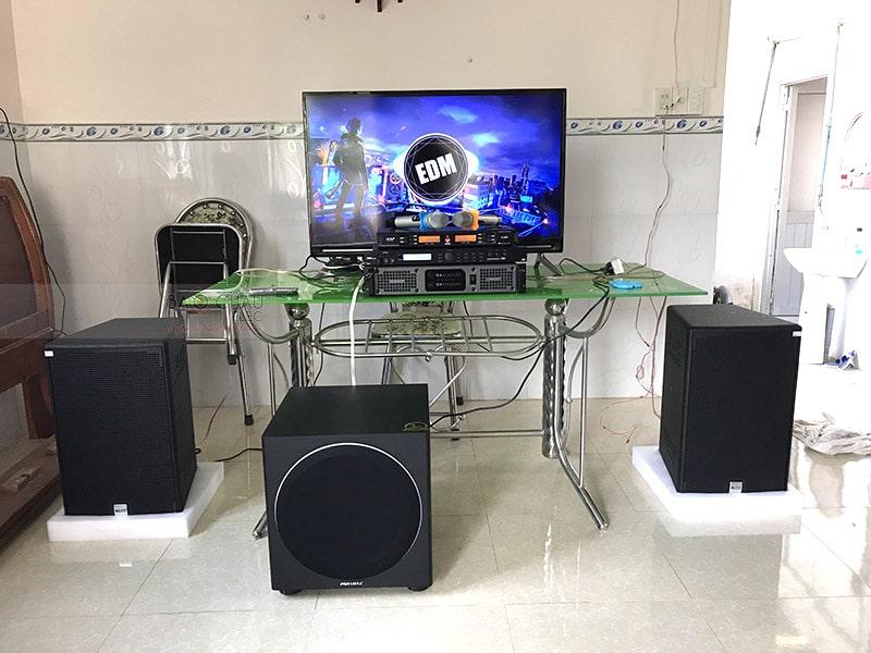Dàn karaoke Alto cho gia đình anh Duy ở Trảng Bom h5