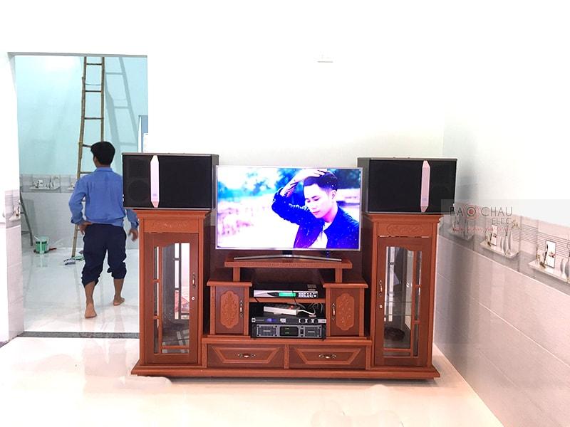 Dàn karaoke JBL của gia đình anh Trà ở Trảng Bom h4