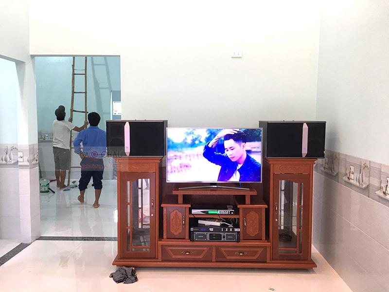 Dàn karaoke JBL của gia đình anh Trà ở Trảng Bom h5