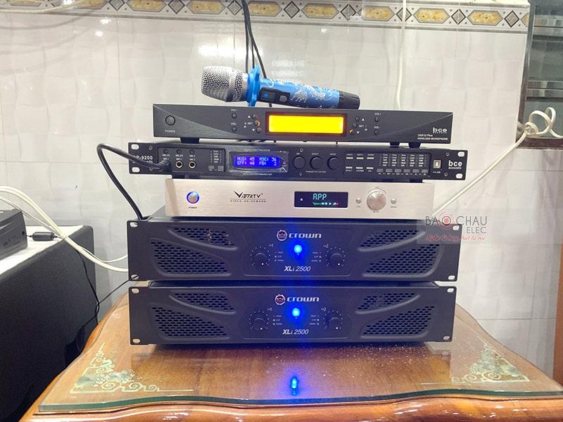 Dàn karaoke VIP của anh Hoàng tại Cà Mau
