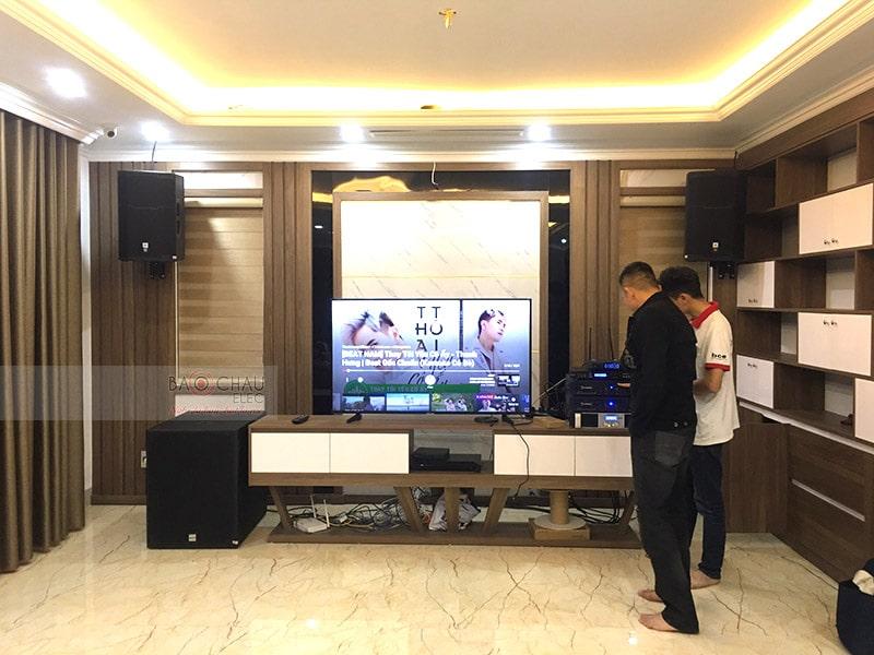 Dàn karaoke JBL siêu VIP cho gia đình anh Tâm ở Cẩm Phả h6