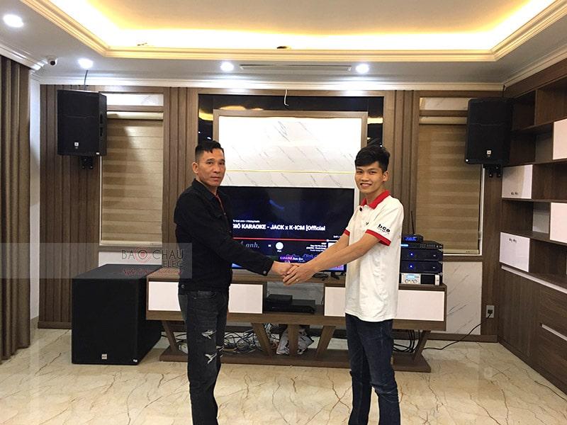 Dàn karaoke JBL siêu VIP cho gia đình anh Tâm ở Cẩm Phả h7