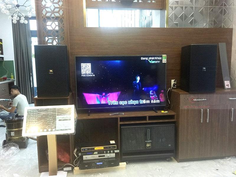 Dàn karaoke JBL cao cấp cho gia đình anh Phi ở Đà Nẵng h5