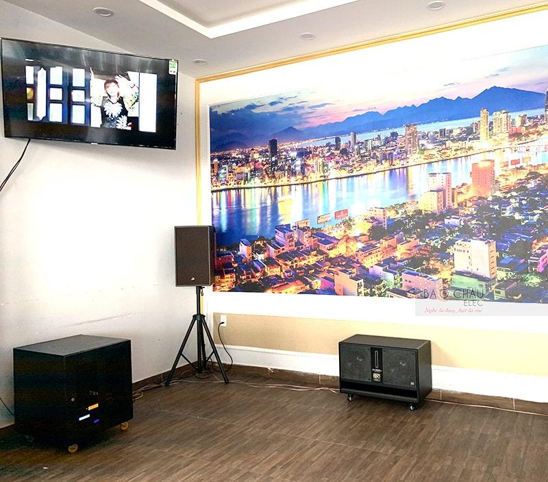 Dàn karaoke cho nhà hàng Biển Lớn ở Đà Nẵng h7