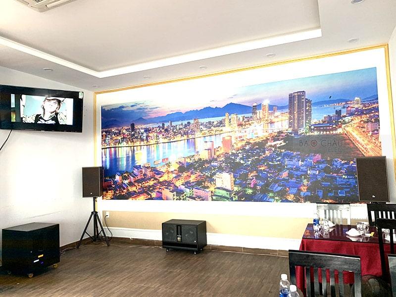 Dàn karaoke cho nhà hàng Biển Lớn ở Đà Nẵng h8