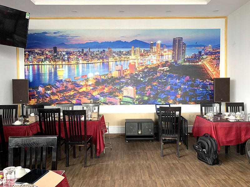 Dàn karaoke cho nhà hàng Biển Lớn ở Đà Nẵng h9