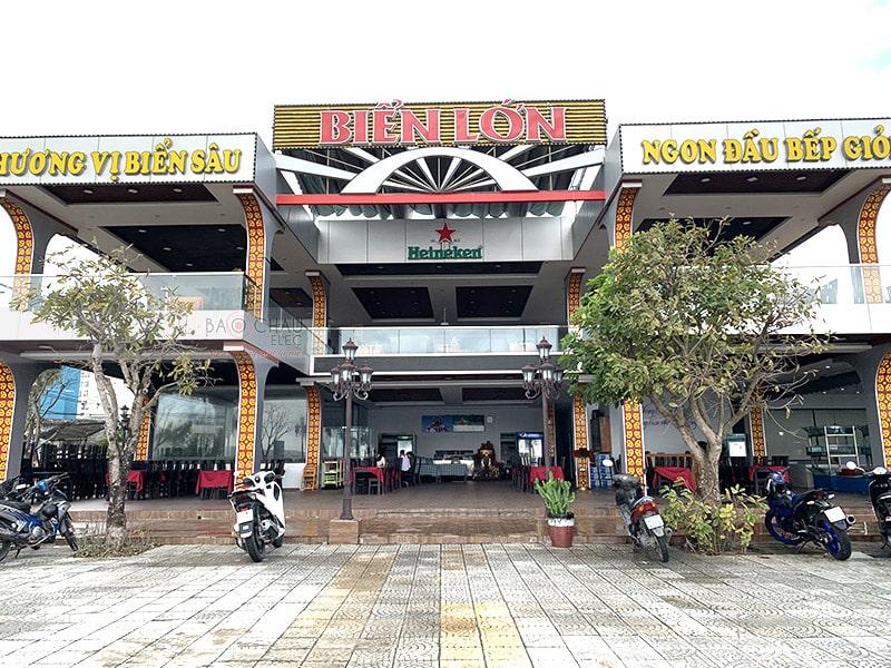 Dàn karaoke cho nhà hàng Biển Lớn ở Đà Nẵng h10